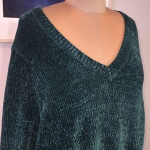 WT Michael Kors Chemise Emerald Sweater